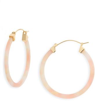 Sterling Forever Hoop Earrings