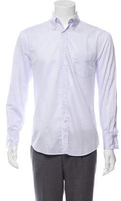 Brunello Cucinelli Woven Button-Up Shirt w/ Tags