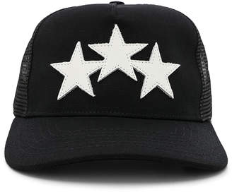 Amiri Leather Star Trucker Hat