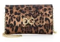 Dolce & Gabbana Dolce& Gabbana Dolce& Gabbana Women's Leo Wallet on Chain - Leopard