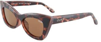Quay Subculture Cat Eye Plastic Sunglasses
