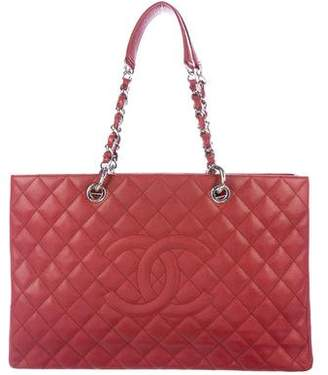 Chanel Caviar XL Grand Shopping Tote