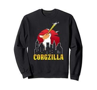 Corgi Corgzilla Sweatshirt - Funny Dog Lover Shirt Dog Mom
