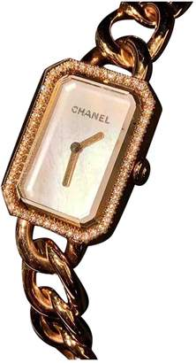 Chanel Premiere Chaine Gold Pink gold Watches