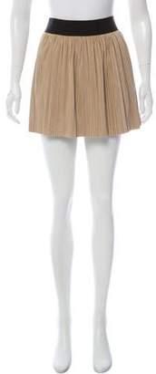BCBGMAXAZRIA Flared Mini Knit Skirt