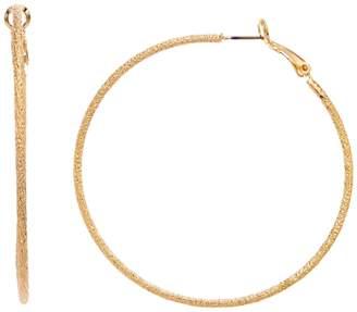 Lf By Lisa Freede LF Lisa Freede Large Stardust Hoop Nickel Free Earrings
