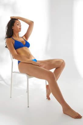 Ardene Ribbed Triangle Bikini Top