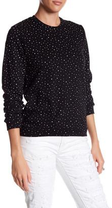 ELEVENPARIS Star Print Sweatshirt $110 thestylecure.com