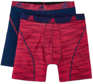adidas 2-pk. Sport Performance climalite Graphic Boxer Briefs