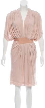 Vionnet Draped Knee-Length Dress
