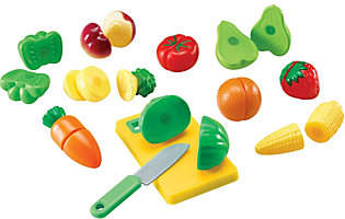Learning Resources Pretend & Play Sliceable Fruits/Veggies by Lear