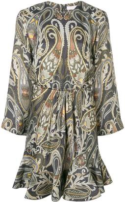Chloé paisley-print dress