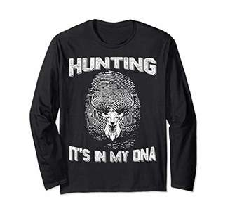 Hunting It'S In My Dna Long Sleeve For Gift