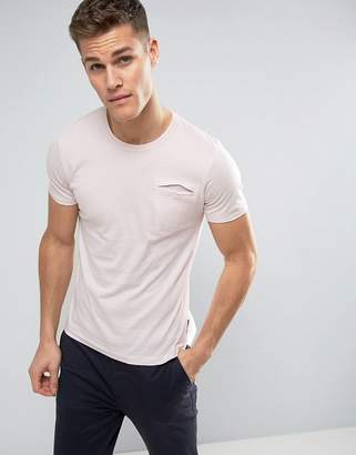 French Connection T-Shirt with Concealed Pocket