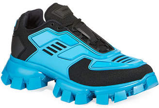 Prada Men's Cloudbust Thunder Lug-Sole Trainer Sneakers