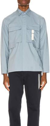 Craig Green Ripstop Shirt in Light Blue | FWRD