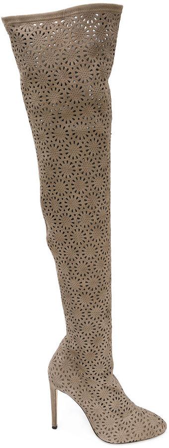 Giuseppe Zanotti Design Petra thigh high boots
