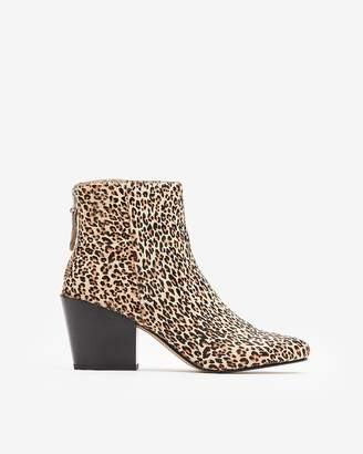 Express Dolce Vita Leopard Coltyn Booties
