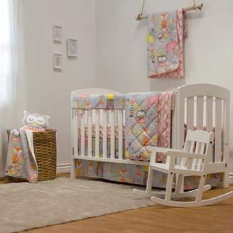 Enchanted Garden Lolli Living 4-Piece Crib Bedding Set