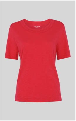 Whistles Rosa Double Trim Tshirt