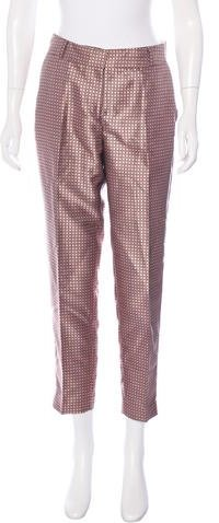 Kate Spade New York Mid-Rise Patterned Pants