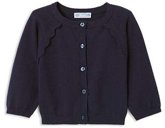 Jacadi Girls' Scalloped-Trim Cardigan - Baby