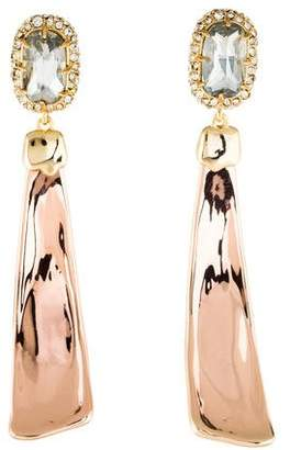 Alexis Bittar Crystal Detail Drop Earrings