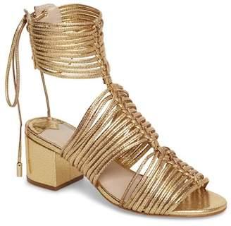 Cecelia New York Delphina Metallic Lace-Up Sandal