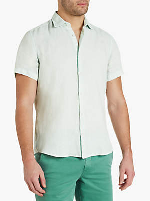 fa4f0e5f6 HUGO BOSS BOSS Rash Short Sleeve Shirt, Light/Pastel Green