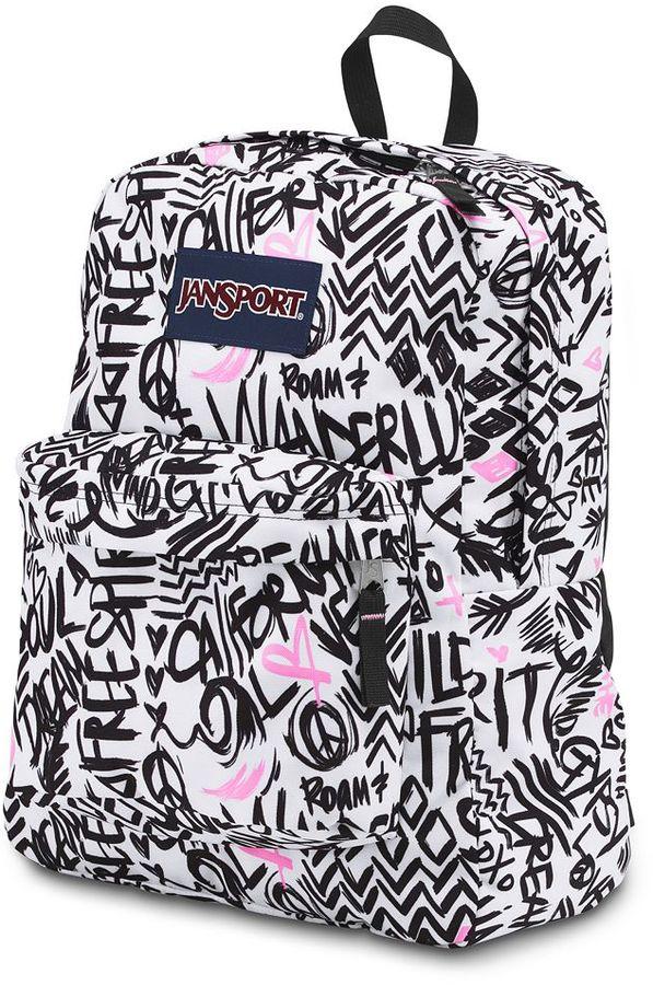 JanSport superbreak wanderlust backpack