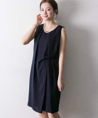 URBAN RESEARCH (アーバン リサーチ) - URBAN RESEARCH COUTURE MAISON ネックレスツキアシメタックドレープワンピース