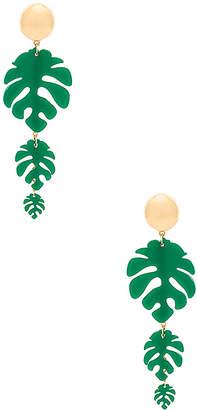 Ettika Tropical Palm Earrings