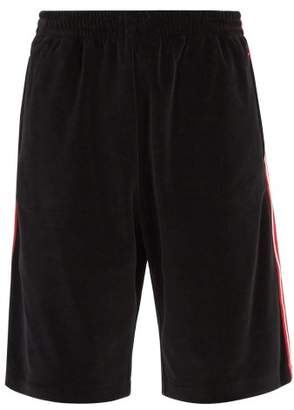 Gucci Side Stripe Shorts - Mens - Black