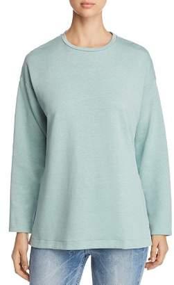 Eileen Fisher Side-Slit Sweatshirt