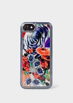 Paul Smith 'Rose Collage' Motif iPhone 7/8 Case