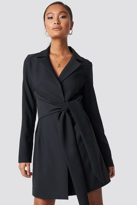 Xle The Label Danielle Blazer Dress Black