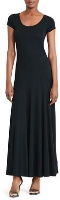 Lauren Ralph Lauren Scoop Neck Maxi Dress $99.50 thestylecure.com