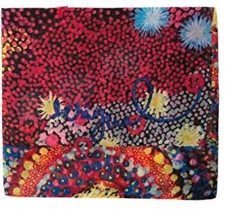 Desigual Women's Foulard_starfish Rectangle Scarf,(Manufacturer Size: U)