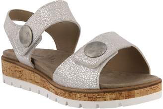 Spring Step Leather Strap Sandals - Reesalie