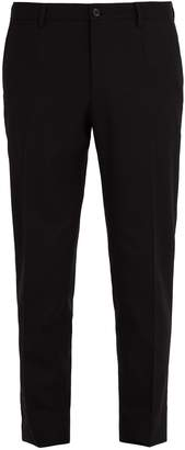 Dolce & Gabbana Tailored wool-blend trousers