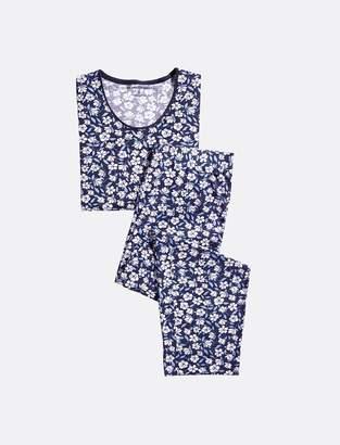 Draper James Long Sleeve Floral PJ Set
