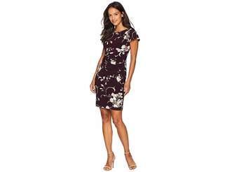 Lauren Ralph Lauren Petite Chelsea Floral Rigley Dress