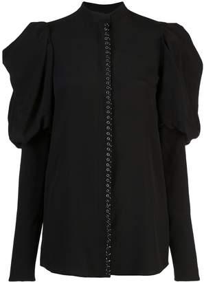 Vera Wang exaggerated sleeve blouse