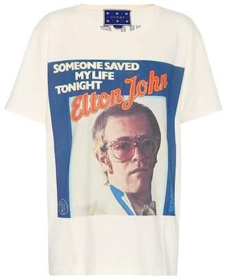 Gucci X Elton John printed T-shirt