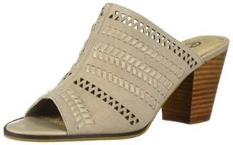 Bella Vita Women's Koraline Slide Sandal on Block Heel Shoe