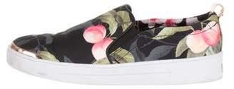 Ted Baker Floral Slip-On Sneakers