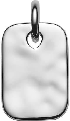 Monica Vinader Havana mini ID sterling silver pendant