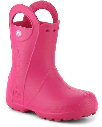 Crocs Handle It Toddler & Youth Rain Boot - Girl's