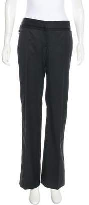 Stella McCartney Mid-Rise Wide-Leg Pants