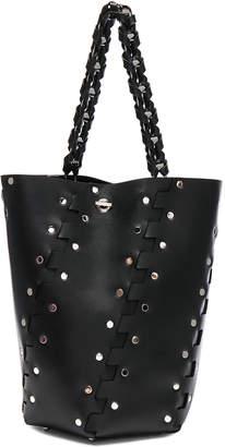 Proenza Schouler Medium Studded Hex Leather Bucket Bag